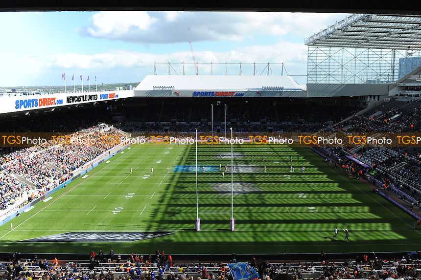 A general view of St James' Park - Super League Magic Weekend Rugby at St James Park, Newcastle United FC - 31/05/15 - MANDATORY CREDIT: Steven White/TGSPHOTO - Self billing applies where appropriate - contact@tgsphoto.co.uk - NO UNPAID USE