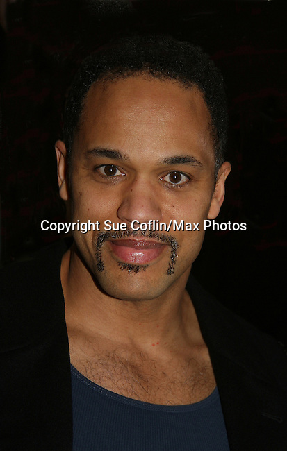 "Keith Hamilton Cobb (""Noah Keefer"" - All My Children & ""Damon Porter"" Young and Restless) is ""Malateste"" in the play ""The Duchess of Malfi"" on February 23, 2010 (Opening Night) at the Red Bull Theatre, New York City, NY. (Photos by Sue Coflin/Max Photos)"
