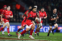 Ma A Nonu of Toulon during the Top 14 match between Toulouse and Toulon on December 30, 2017 in Toulouse, France. (Photo by Manuel Blondeau/Icon Sport)