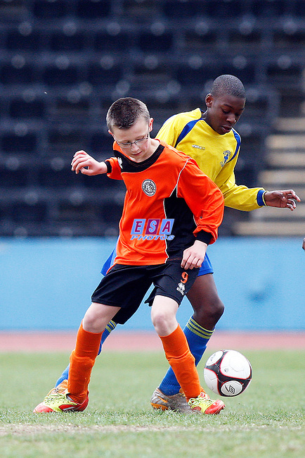 LAMBETH TIGERS v WESTSIDE<br /> LONDON SATURDAY YOUTH CUP U12 FINAL SATURDAY 31ST MARCH 2012 CRYSTAL PALACE