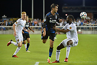San Jose, CA - Saturday June 24, 2017: Chris Wondolowski during a Major League Soccer (MLS) match between the San Jose Earthquakes and Real Salt Lake at Avaya Stadium.