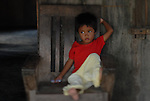 Filipino child in his house in Ilocos Norte, Philippines..**For more information contact Kevin German at kevin@kevingerman.com