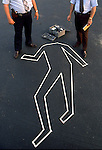 Illustration for North Carolina's top murder investigators - stock image - Photo by Jamie Moncrief