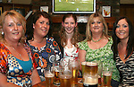 Sandra O'Brien, Yvonne Murray, Angela Reynolds, Therese Farrell and Lisa Smith at the fundraiser for Tadhg Sheridan in McPhails...Photo NEWSFILE/Jenny Matthews.(Photo credit should read Jenny Matthews/NEWSFILE)....This Picture has been sent you under the condtions enclosed by:.Newsfile Ltd..The Studio,.Millmount Abbey,.Drogheda,.Co Meath..Ireland..Tel: +353(0)41-9871240.Fax: +353(0)41-9871260.GSM: +353(0)86-2500958.email: pictures@newsfile.ie.www.newsfile.ie.FTP: 193.120.102.198.