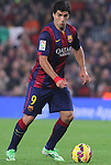 22.11.2014 Barcelona. La Liga day 12. Picture show Luis Suarez in action during game between FC Barcelona v Sevilla at Camp Nou