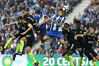 (181224) -- PORTO, Dec. 24, 2018 -- Soares ( 4th R) of Porto heads for the ball during the Portuguese League soccer match between FC Porto and Rio Ave at Dragao Stadium in Porto, Portugal, on Dec. 23, 2018. Porto won 2-1. ) (SP)PORTUGAL-PORTO-FOOTBALL-PORTUGUESE LEAGUE CatarinaxMorais PUBLICATIONxNOTxINxCHN<br /> Foto Imago/Insidefoto