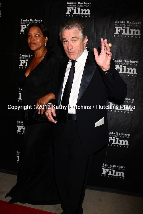 Zachary Levi LOS ANGELES - DEC 8:  Grace Hightower, Robert DeNiro arrives to the SBIFF Kirk Douglas Award  at Bacara Resort & Spa on December 8, 2012 in Santa Barbara, CA