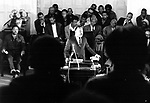 Martin Luther King preaching in a rural Alabama church while touring the state tp promote the upcoming Poor People's Campaign to Washington. This and over 10,000 other images are part of the Jim Peppler Collection at The Alabama Department of Archives and History:  http://digital.archives.alabama.gov/cdm4/peppler.php