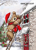 Roger, CHRISTMAS ANIMALS, WEIHNACHTEN TIERE, NAVIDAD ANIMALES, paintings+++++,GBRMCX-2187,#xa#