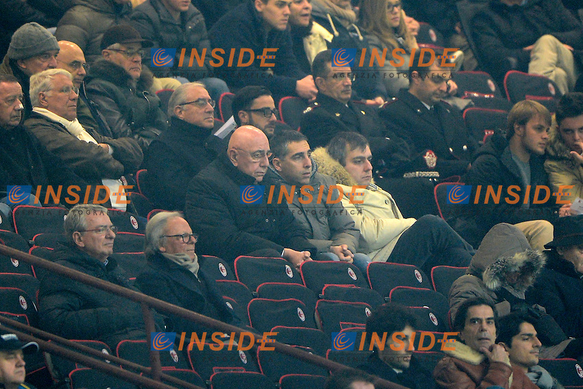 Adriano Galliani Milan<br /> Milano 01-02-2014 Stadio Giuseppe Meazza - Football 2013/2014 Serie A. Milan - Torino Foto Giuseppe Celeste / Insidefoto