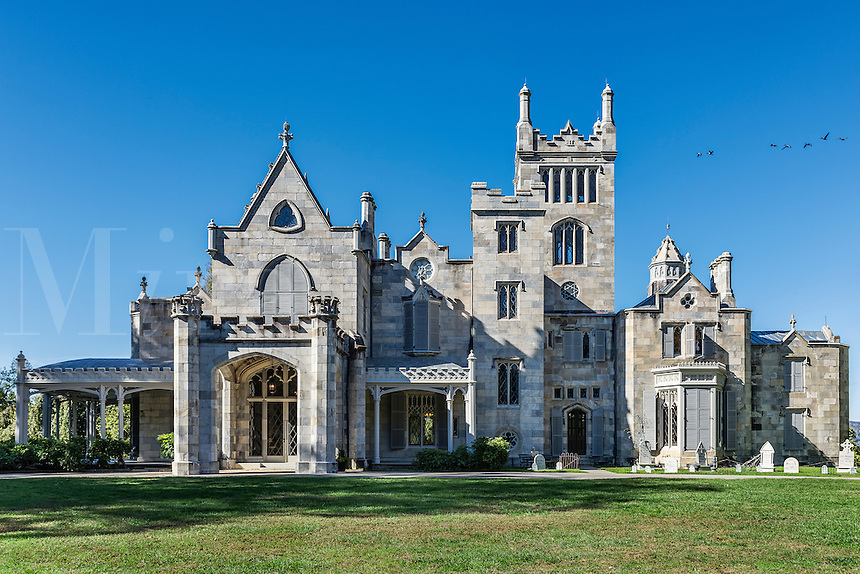 Lyndhurst Mansion, Tarrytown, New York, USA