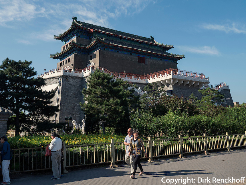 QianMen-Tor in Peking,  China, Asien<br /> QianMen Gate in Beijing, China, Asia