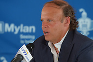 July 8, 2013  (Washington, DC)  Washington Kastles owner Mark Ein during a news  conference before the teams home opener July 8, 2013.  (Photo by Don Baxter/Media Images International)