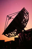 Satellite Antenna at dusk.