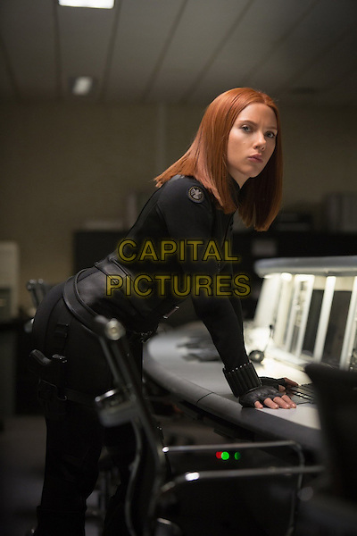 Scarlett Johansson<br /> in Captain America: The Winter Soldier (2014) <br /> *Filmstill - Editorial Use Only*<br /> CAP/FB<br /> Image supplied by Capital Pictures
