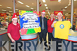 Bee For Battens: Announcing the Bee for Battens Pre Xmas Craic Night sponsored by Garvey's Supermarket, Listowel to be held at The Kingdom Bar , Listowel on 14th November were Dominick Kissane, Michael McDonnell, Manager, Garvey's, Mary Kelly & Maura Keane.
