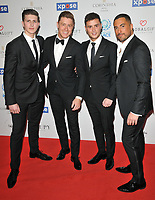 Jack Pack at the Football For Peace Initiative Dinner by Global Gift Foundation, Corinthia Hotel, Whitehall Place, London, England, UK, on Monday 08th April 2019.<br /> CAP/CAN<br /> ©CAN/Capital Pictures