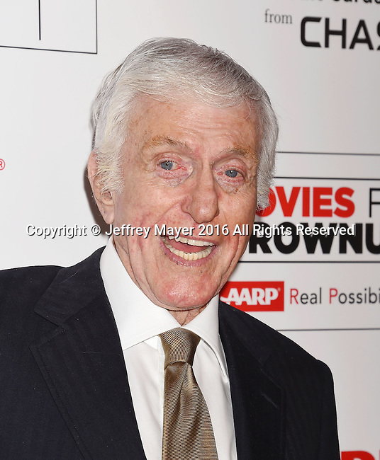 BEVERLY HILLS, CA - FEBRUARY 08: Actor Dick Van Dyke attends AARP's Movie For GrownUps Awards at the Regent Beverly Wilshire Four Seasons Hotel on February 8, 2016 in Beverly Hills, California.