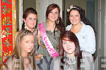 16th : Shauna O'Shea from Marian Park, Tralee who celebrated her 16th birthday with friends in The Sunshine Palace, Castle Street, Tralee on Saturday night. Front l-r: Rita Molloy and Jessica O'Connor. Back l-r: Ann CReagh Shauna O'Shea(birthday girl) and Katie Horan. .................. . ............................... ..........