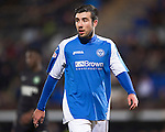 St Johnstone FC...Season 2012-13.Michael Doughty.Picture by Graeme Hart..Copyright Perthshire Picture Agency.Tel: 01738 623350  Mobile: 07990 594431