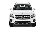 Car photography straight front view of a 2020 Mercedes Benz GLB GLB250 5 Door SUV