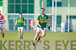 Jack Sherwood  Kerry in action against   Cork IT in the semi final of the McGrath Cup at John Mitchells Grounds on Sunday.