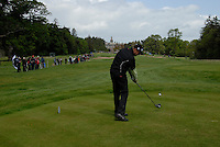 Martin Erlandsson tees off on the 8th tee during the third round of the Irish Open on 19th of May 2007 at the Adare Manor Hotel & Golf Resort, Co. Limerick, Ireland. (Photo by Eoin Clarke/NEWSFILE)...