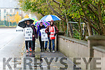 ASTI teachers striking from CBS the Green  Tralee on Tuesday