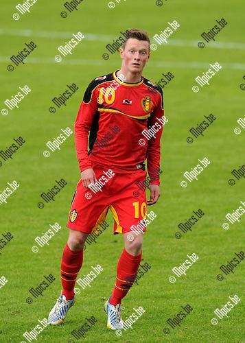 2013-05-26 / Voetbal / seizoen 2012-2013 / België U19 / Rob Schoofs..Foto: mpics