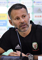 Wales Manager Ryan Giggs during the Wales press conference on 21 March 2018 ahead of China Cup International Football Championship, Nanning city, Guangxi Zhuang Autonomous Region, China. Photo by Sipa / PRiME Media Images.