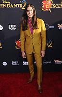 "11 July 2017 - Hollywood, California - Booboo Stewart. Disney's ""Descendants 2"" Los Angeles Premiere held at the ArcLight Cinerama Dome in Hollywood. Photo Credit: Birdie Thompson/AdMedia"