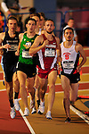 11 MAR 2016:  Jacob Burcham of the University of Oklahoma leads the pack in the One Mile during the Division I Men's Indoor Track & Field Championship held at the Birmingham Crossplex in Birmingham, Al. Tom Ewart/NCAA Photos