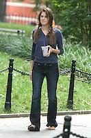 July 31,  2012  Marnie Michaels,  on location for HBO series Girls at Washington Square Park in New York City.Credit:© RW/MediaPunch Inc. /NortePhoto.com<br /> <br /> **SOLO*VENTA*EN*MEXICO**<br /> **CREDITO*OBLIGATORIO** <br /> *No*Venta*A*Terceros*<br /> *No*Sale*So*third*<br /> *** No Se Permite Hacer Archivo**<br /> *No*Sale*So*third*
