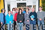 Delegation: A delegation of parents from the Parents Association of Dromclough NS, Listowel pictured prior to their meeting with Minister Jimmy Deenihan at the Listowel Arms Hotel on Saturday morning last. Front : Susan Enright, Mags O'Sullivan, Helen Sanderson, Mags Faley, Carmel Kelly, Noel Keenan & John Cronin...Back : Mary O'Connell, Joe Healy, Anne Egan, Bernadette O'Shea, Siobhan Quilter, Joe Kelly & Pat Brosnan.=