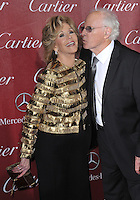 Jane Fonda &amp; Bruce Dern at the 2014 Palm Springs International Film Festival Awards gala at the Palm Springs Convention Centre.<br /> January 4, 2014  Palm Springs, CA<br /> Picture: Paul Smith / Featureflash