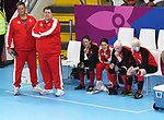 Lima, Peru - 31/August/2019 - Canada competes for the bronze medal in women's goalball at the Parapan Am Games in Lima, Peru. Photo: Scott Grant/Canadian Paralympic Committee.