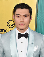 HOLLYWOOD, CA - AUGUST 07:  Henry Golding arrives at the Warner Bros. Pictures' 'Crazy Rich Asians' premiere at the TCL Chinese Theatre IMAX on August 7, 2018 in Hollywood, California.<br /> CAP/ROT/TM<br /> &copy;TM/ROT/Capital Pictures
