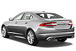 Rear three quarter view of a 2012 Jaguar XF Portfolio