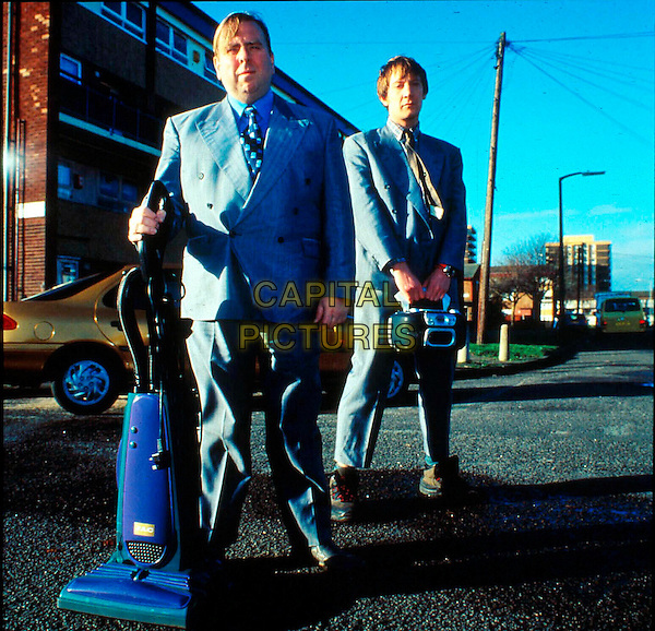 TIMOTHY SPALL & MICHAEL BEGLEY.in Vacuuming Completely Nude in Paradise.Ref: FB.**filmstill-editorial use only**.www.capitalpictures.com.sales@capitalpictures.com.Supplied by Capital Pictures