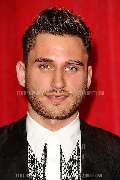 Charlie Clapham arriving for the 2014 British Soap Awards, at the Hackney Empire, London. 24/05/2014 Picture by: Steve Vas / Featureflash