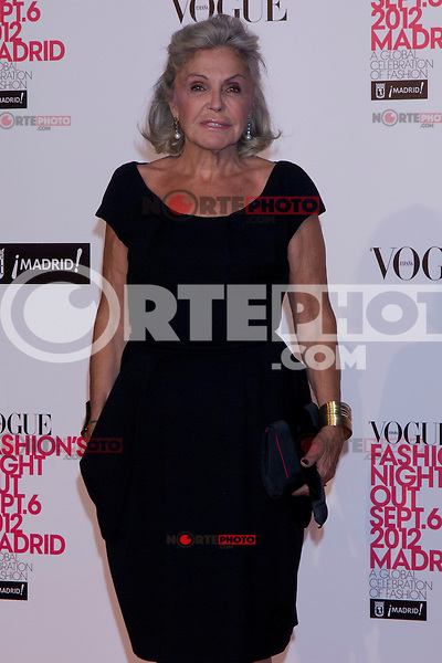 06.09.2012. Vogue Fashion´S Night Out Madrid. In the image Beatriz de Orleans (Alterphotos/Marta Gonzalez) /NortePhoto<br />  **CREDITO*OBLIGATORIO** *No*Venta*A*Terceros* *No*Sale*So*third* ***