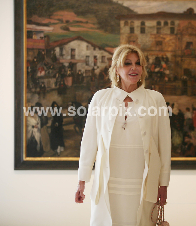 "**ALL ROUND PICTURES FROM SOLARPIX.COM**                                             **WORLDWIDE SYNDICATION RIGHTS EXCEPT SPAIN & SOUTH AMERICA - NO SYNDICATION IN SPAIN OR SOUTH AMERICA**                                                                                  Caption: .Spanish baroness Carmen Thyssen-Bornemisza widow of Baron Thyssen-Bornemisza, said at  the opening  presentation of the Malaga museum that the works on display in the new space, 230 were selected ""for their quality and closeness to Andalusia, although there are paintings that are not Andalusian such as those by Sorolla, Regoyos and Beruete."".The Baroness has loaned these works for free for a period of fifteen years but was confident that ""in no time"" she will reach an agreement to extend the agreement..Among the pieces that the public can see starting tomorrow, Carmen Cervera said there is an anonymous carving of Christ dated between 1230 and 1250 and a painting in which Guillermo Gómez Gil captured the Reding Fountain. ""I acquired the painting many years ago at an auction in London and it was one of my first Spanish works, "" she said.   .                                                                            .This pic: Carmen Thyssen-Bornemisza                                                                                             JOB REF: 13016       MPA       DATE: 23.03.2011                                                           **MUST CREDIT SOLARPIX.COM OR DOUBLE FEE WILL BE CHARGED**                                                                      **MUST AGREE FEE BEFORE ONLINE USAGE**                               **CALL US ON: +34 952 811 768 or LOW RATE FROM UK 0844 617 7637**"