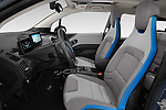 Front seat view of a 2018 BMW i3 S 5 Door Hatchback front seat car photos