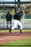 Edward Landron (4) of Hazleton High School in Hazleton, Pennsylvania during the Under Armour All-American Pre-Season Tournament presented by Baseball Factory on January 14, 2017 at Sloan Park in Mesa, Arizona.  (Art Foxall/MJP/Four Seam Images)