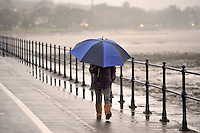 2015 01 23 Rainy Weather  in Swansea South Wales