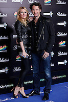 Carlos Moya and Carolina Cerezuela attends 40 Principales awards photocall  2012 at Palacio de los Deportes in Madrid, Spain. January 24, 2013. (ALTERPHOTOS/Caro Marin) /NortePhoto