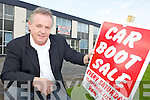 SALE: James Vaughan who runs the weekly car boot and furniture sales at Clieveragh in Listowel.