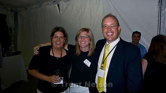 Laura Nelson at her 20 year high school reunion. chatfield high school