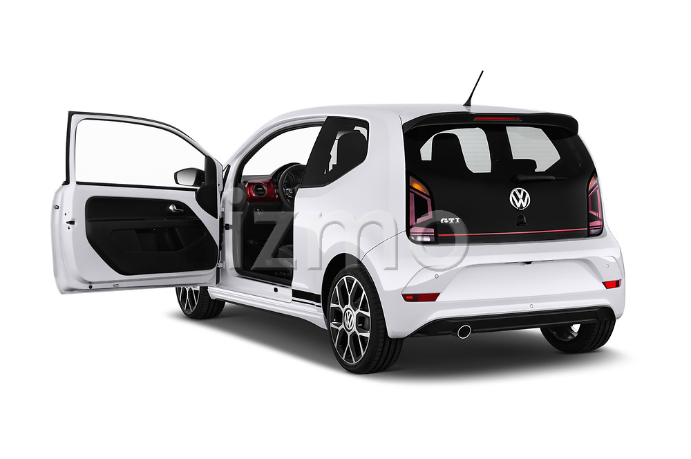 Car images close up view of a 2018 Volkswagen UP GTi 3 Door Hatchback doors