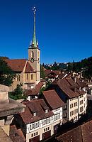 Ortsteil Nydegg in Bern, Schweiz, Unesco-Weltkulturerbe